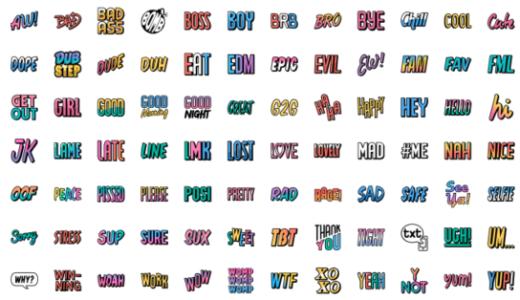 【英語スラング】LINE絵文字の英語スラングの意味