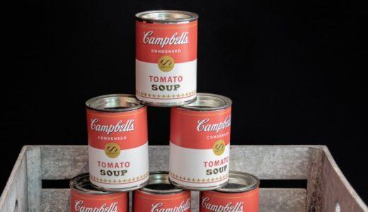 【英語フレーズ】缶詰の言い方(canned food)